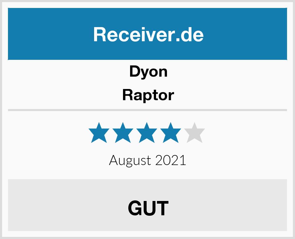 Dyon Raptor Receiver Test 2018