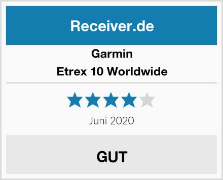 Garmin Etrex 10 Worldwide Test