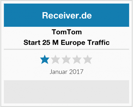 TomTom Start 25 M Europe Traffic Test