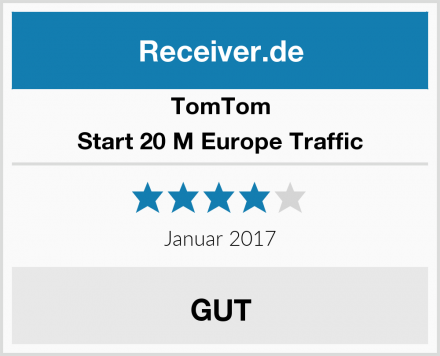 TomTom Start 20 M Europe Traffic Test