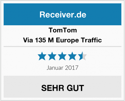 TomTom Via 135 M Europe Traffic Test