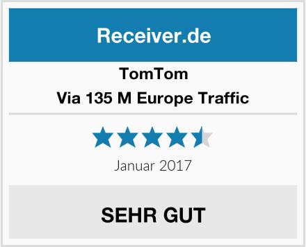 TomTom Via 135 M Europe Traffic Test