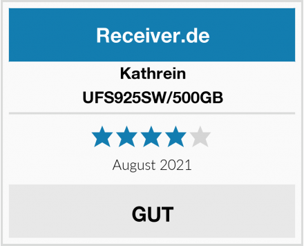 Kathrein UFS925SW/500GB Test