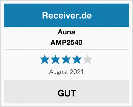 Auna AMP2540 Test