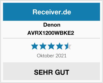 Denon AVRX1200WBKE2  Test