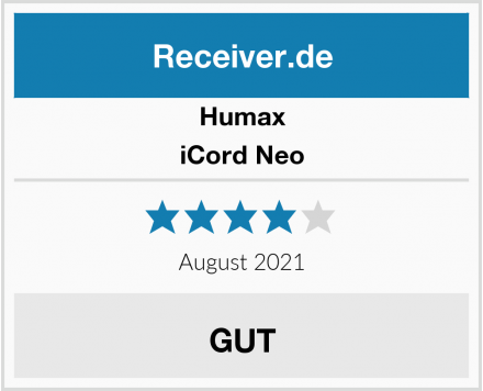 Humax iCord Neo Test