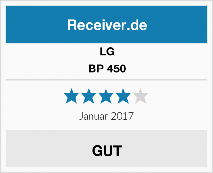LG BP 450 Test