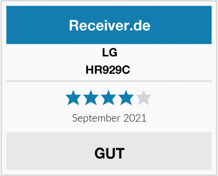 LG HR929C  Test