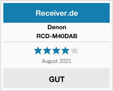 Denon RCD-M40DAB Test