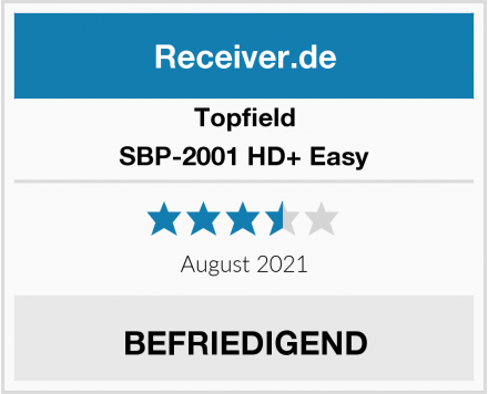 Topfield SBP-2001 HD+ Easy Test