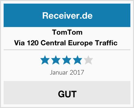 TomTom Via 120 Central Europe Traffic  Test
