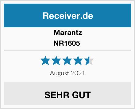 Marantz NR1605  Test