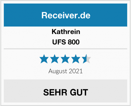 Kathrein UFS 800 Test