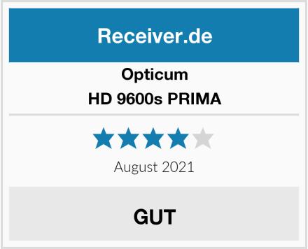 Opticum HD 9600s PRIMA Test