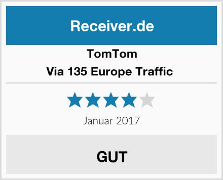 TomTom Via 135 Europe Traffic  Test