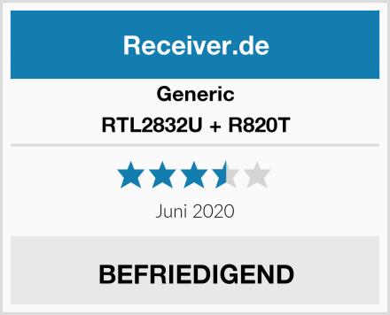 Generic RTL2832U + R820T Test