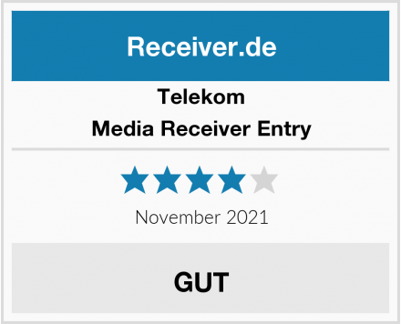 Telekom Media Receiver Entry Test