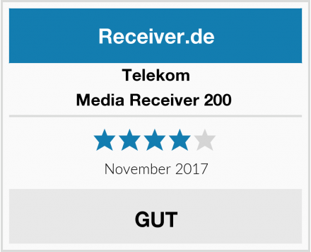 Telekom Media Receiver 200  Test