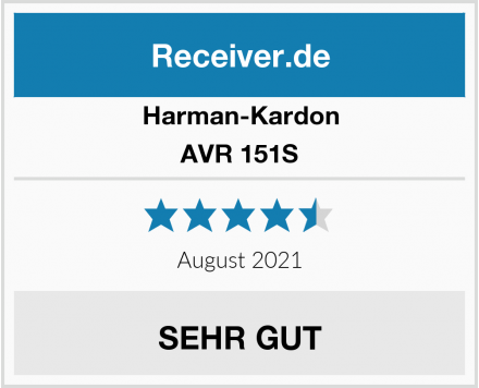 Harman-Kardon AVR 151S Test