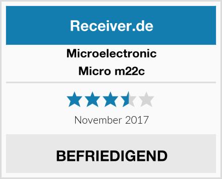 Microelectronic Micro m22c Test