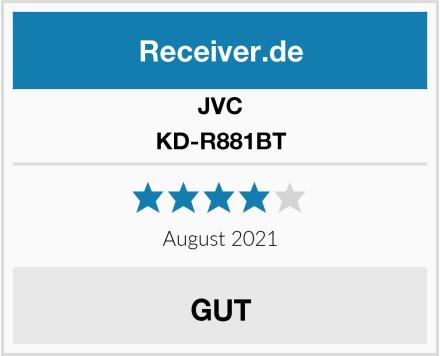 JVC KD-R881BT Test