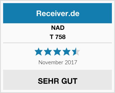 NAD T 758 Test