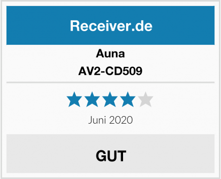 Auna AV2-CD509  Test