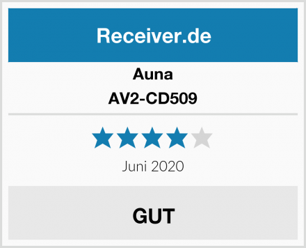 Auna AV2-CD509 Test