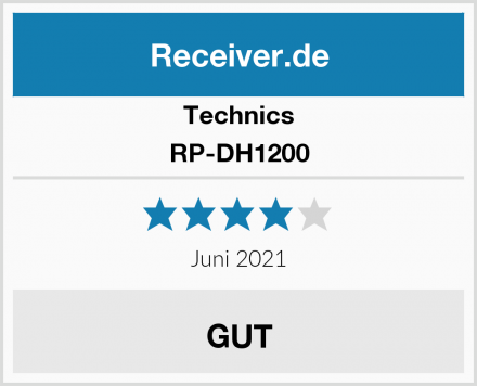 Technics RP-DH1200 Test