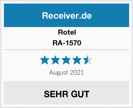 Rotel RA-1570 Test