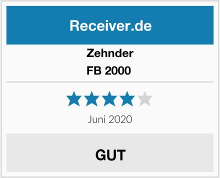 Zehnder FB 2000  Test