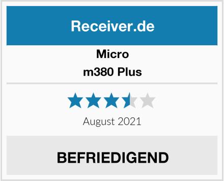 Micro m380 Plus Test