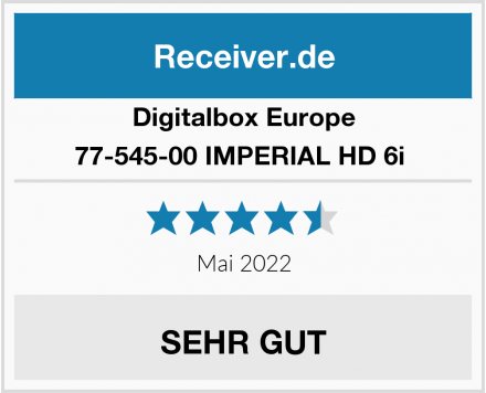 Digitalbox Europe 77-545-00 IMPERIAL HD 6i  Test