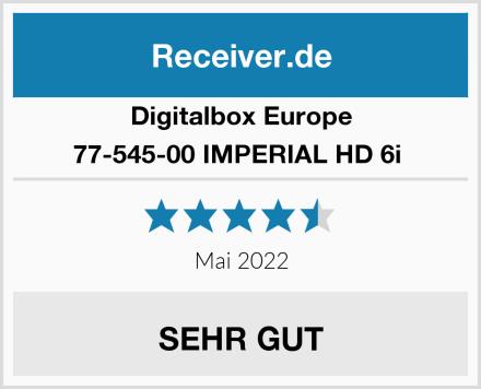 Digitalbox Europe 77-545-00 IMPERIAL HD 6i  Test