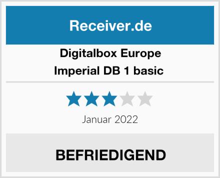 Digitalbox Europe Imperial DB 1 basic  Test