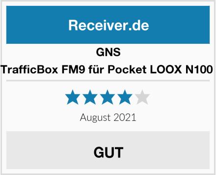GNS TrafficBox FM9 für Pocket LOOX N100  Test