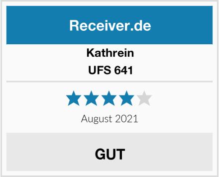 Kathrein UFS 641 Test