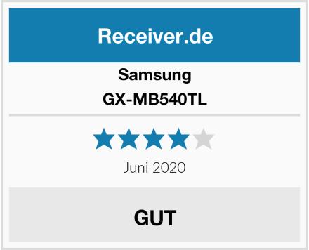 Samsung GX-MB540TL Test