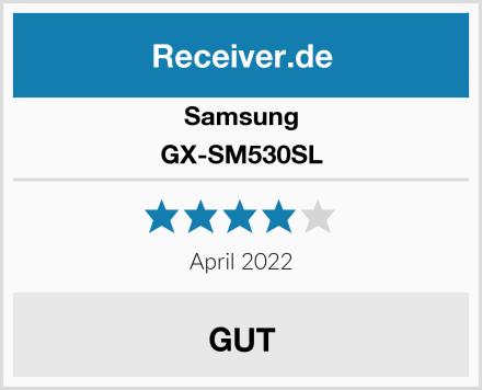 Samsung GX-SM530SL Test