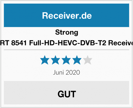 Strong SRT 8541 Full-HD-HEVC-DVB-T2 Receiver  Test