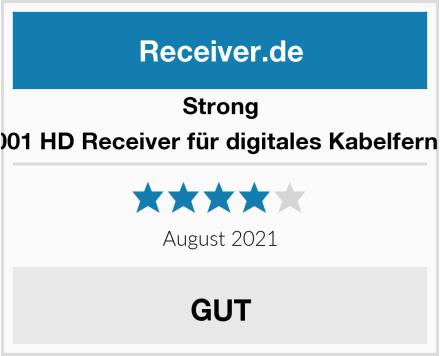 Strong SRT 3001 HD Receiver für digitales Kabelfernsehen  Test