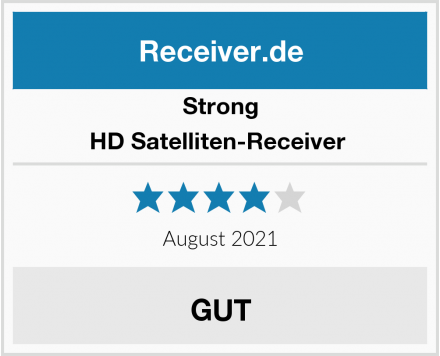 Strong HD Satelliten-Receiver  Test
