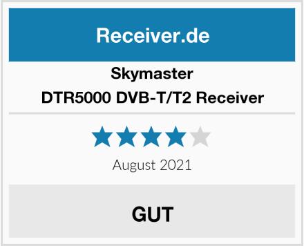 Skymaster DTR5000 DVB-T/T2 Receiver Test