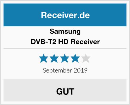 Samsung DVB-T2 HD Receiver Test