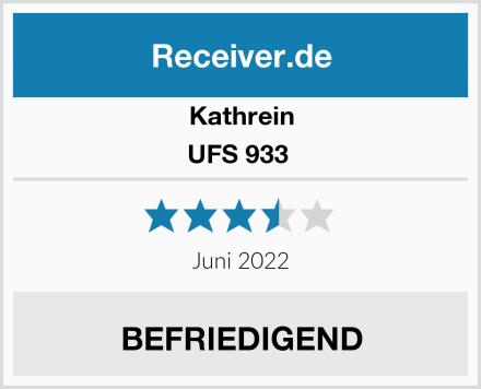 Kathrein UFS 933  Test