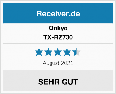 Onkyo TX-RZ730 Test