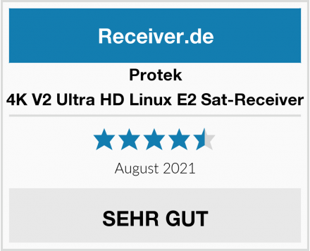 Protek 4K V2 Ultra HD Linux E2 Sat-Receiver Test