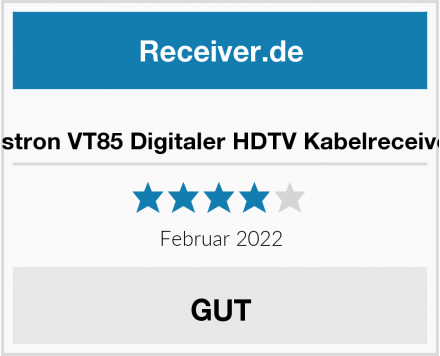 Vistron Vistron VT85 Digitaler HDTV Kabelreceiver Test