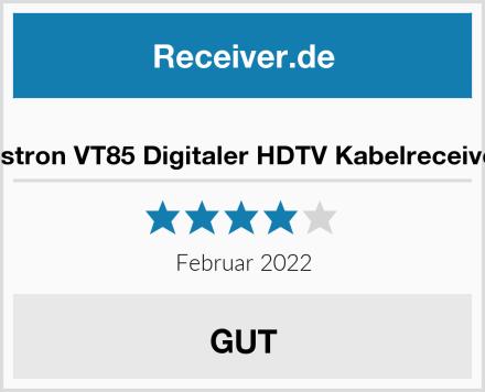 Vistron VT85 Digitaler HDTV Kabelreceiver Test