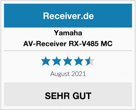 Yamaha AV-Receiver RX-V485 MC Test